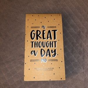Brand New Thought A Day Pad